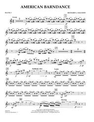 American Barndance - Flute 2