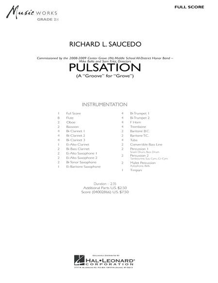 Pulsation - Full Score