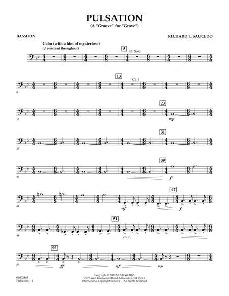 Pulsation - Bassoon