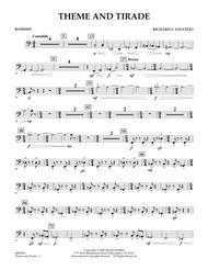 Theme and Tirade - Bassoon
