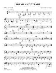 Theme and Tirade - Bb Bass Clarinet