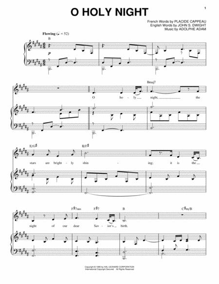 Download O Holy Night Sheet Music By Josh Groban - Sheet Music Plus