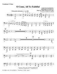 O Come, All Ye Faithful - Trombone 3/Tuba