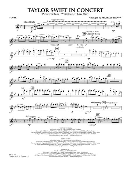 Taylor Swift - In Concert - Flute