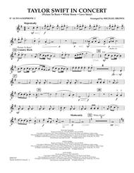 Taylor Swift - In Concert - Eb Alto Saxophone 2
