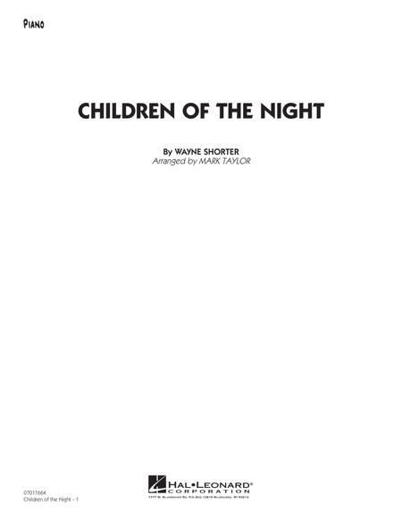 Children of the Night - Piano
