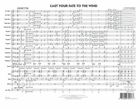 Cast Your Fate to the Wind - Full Score