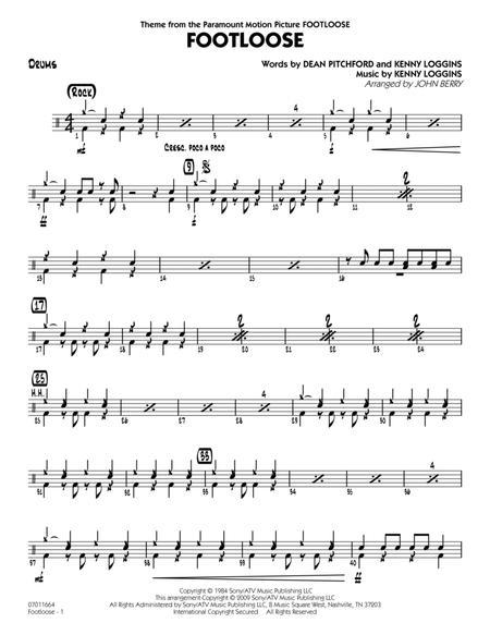 Footloose - Drums