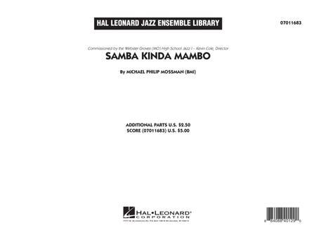 Samba Kinda Mambo - Conductor Score (Full Score)