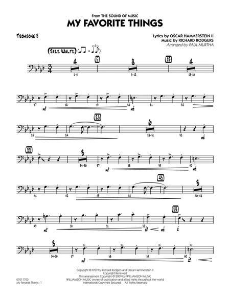 My Favorite Things - Trombone 3