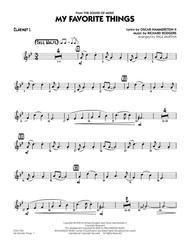 My Favorite Things - Clarinet 1