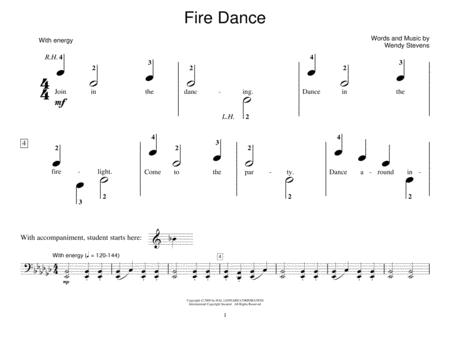Fire Dance (Piano Duet)