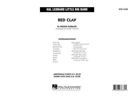 Red Clay - Conductor Score (Full Score)