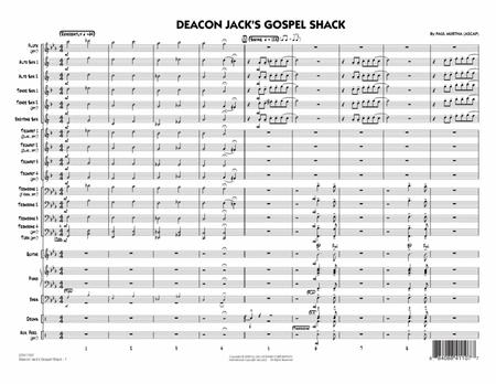 Deacon Jack's Gospel Shack - Full Score