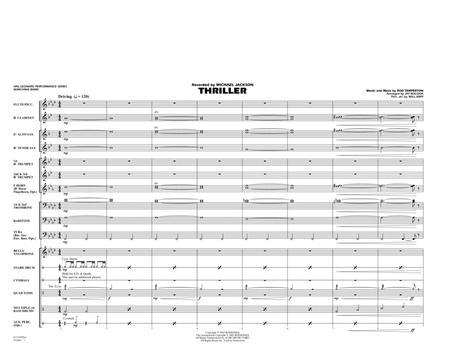 Thriller - Full Score