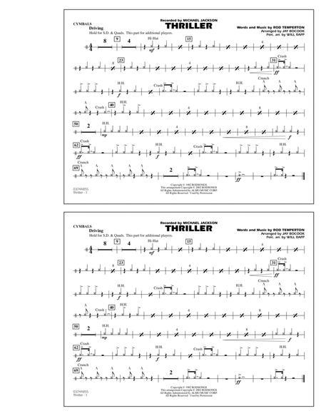 Thriller - Cymbals