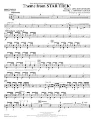 Theme from Star Trek (TV Series) - Percussion 1
