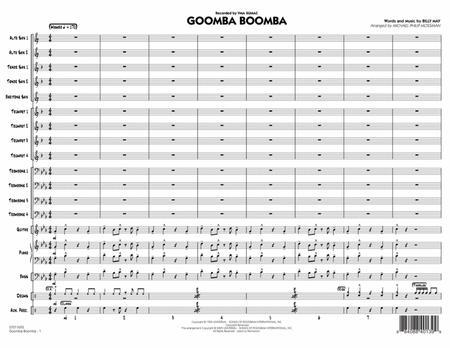 Goomba Boomba - Conductor Score (Full Score)