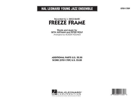 Freeze Frame - Conductor Score (Full Score)