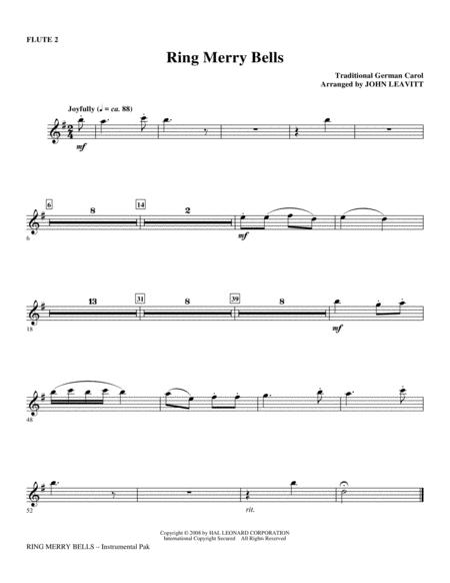 Ring Merry Bells - Flute 2