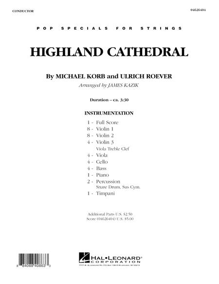 Highland Cathedral - Full Score