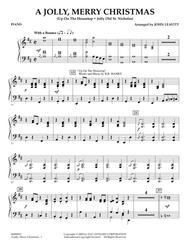 A Jolly, Merry Christmas - Piano