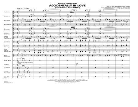 Accidentally In Love - Full Score