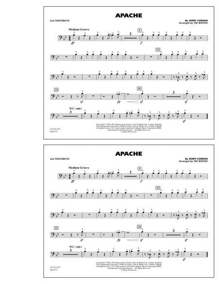 Apache - 2nd Trombone