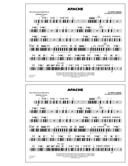 Apache - Multiple Bass Drums