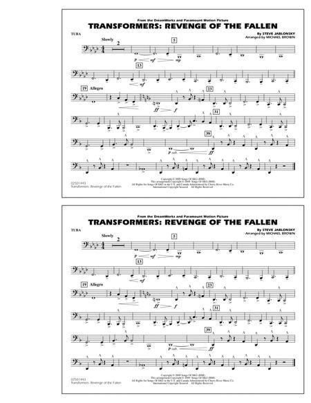 Transformers: Revenge Of The Fallen - Tuba