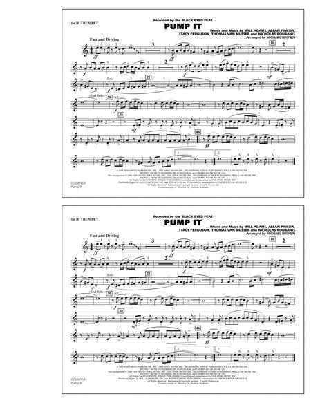 Pump It - 1st Bb Trumpet