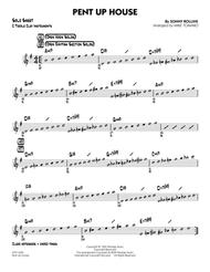 Pent Up House - C Solo Sheet