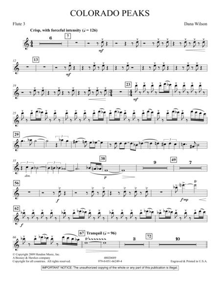 Colorado Peaks - Flute 3
