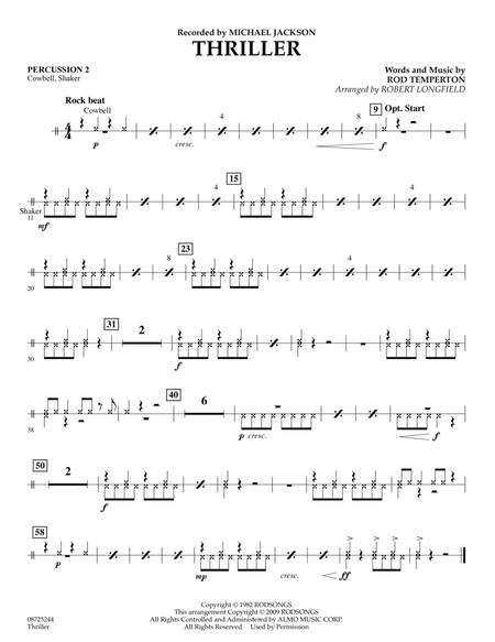 Thriller - Percussion 2