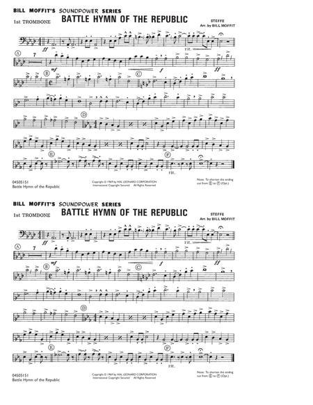 Battle Hymn Of The Republic - 1st Trombone