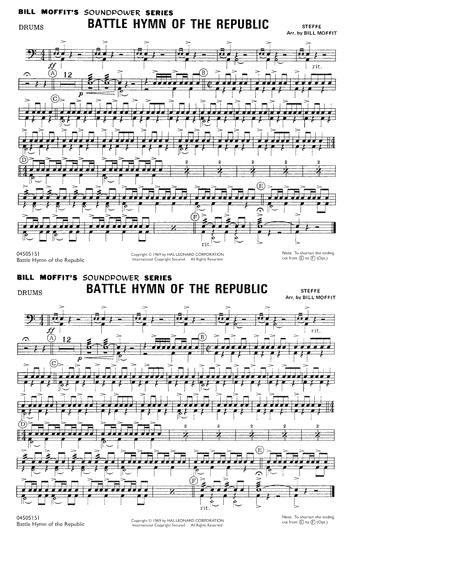 Battle Hymn Of The Republic - Drums
