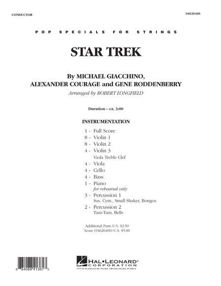Star Trek - Full Score