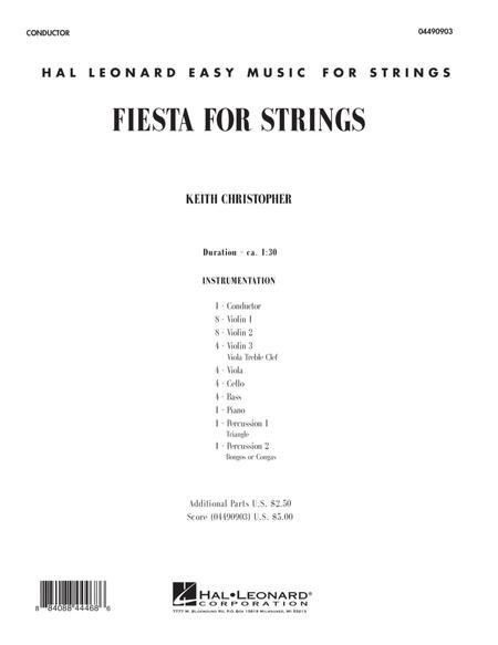 Fiesta for Strings - Full Score
