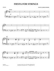 Fiesta for Strings - Piano