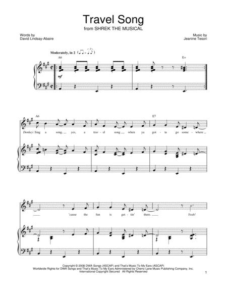 Hallelujah Shrek Chords Piano Choice Image Chord Guitar Finger