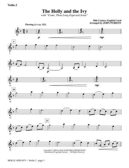 Holly And Ivy - Violin 2