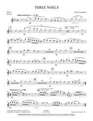 Three Noels - Flute 2