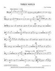 Three Noels - String Bass