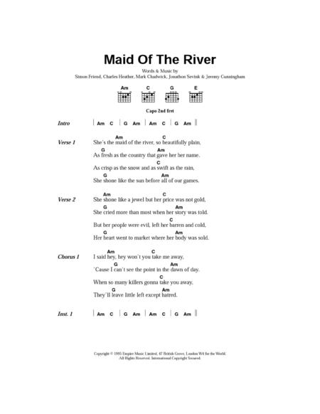 Maid Of The River