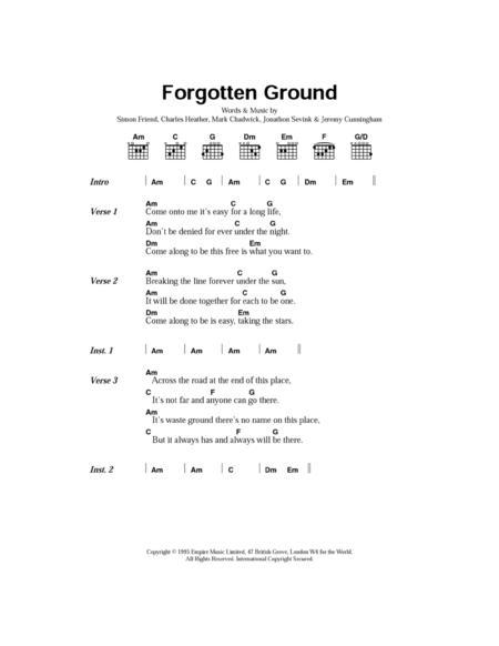 Forgotten Ground