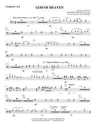 God Of Heaven - Trombone 1 & 2