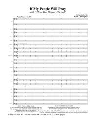 If My People Will Pray (with Hear Our Prayer, O Lord) - Full Score