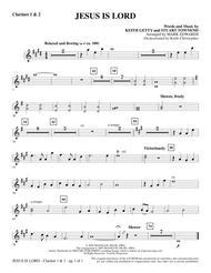 Jesus Is Lord - Bb Clarinet 1 & 2