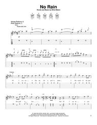 Download No Rain Sheet Music By Blind Melon Sheet Music Plus