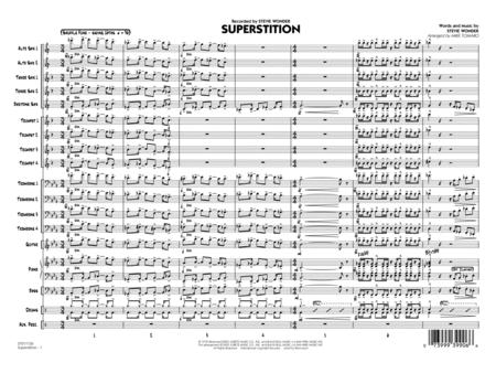 Superstition - Conductor Score (Full Score)